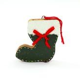 Ornement fait maison de gaine de Noël Photo stock