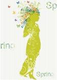 Ornement floral illustration de vecteur