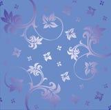 Ornement floral Images libres de droits