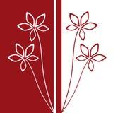 Ornement floral Image libre de droits
