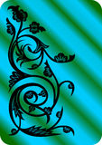 Ornement floral abstrait Illustration Stock