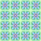Ornement floral de couleur Images stock