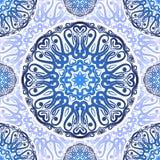 Ornement floral de modèle sans couture de vecteur Illustration de Vecteur