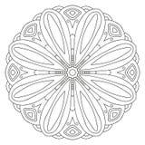 Ornement floral de vecteur Photographie stock libre de droits