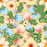 Ornement floral de vintage sans couture abstrait Photographie stock