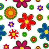 Ornement floral sans couture Photographie stock libre de droits