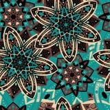 Ornement floral sans couture illustration de vecteur