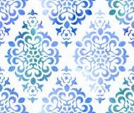 Ornement floral sans couture d'aquarelle Vecteur illustration stock