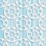 Ornement géométrique abstrait illustration stock