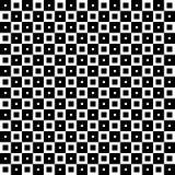 Ornement géométrique monochrome Dirigez la configuration sans joint Photos libres de droits
