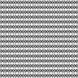 Ornement géométrique monochrome Dirigez la configuration sans joint Image stock