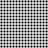 Ornement géométrique monochrome Dirigez la configuration sans joint Photo libre de droits