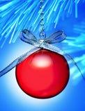 Ornement givré de Noël de l'hiver photographie stock libre de droits