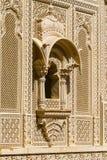 Ornement indien sur le mur du palais dans le fort de Jaisalmer, Inde Photos stock