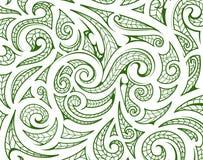Ornement maori de style comme couche de fond illustration stock