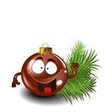 Ornement mignon de Noël Image libre de droits