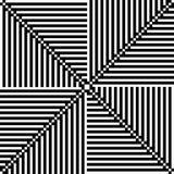 Ornement noir et blanc de pixel Photo stock