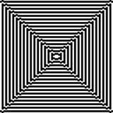 Ornement noir et blanc de pixel Photos stock