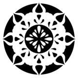 ornement noir rétro illustration de vecteur