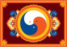 Ornement oriental - configuration de décoration Photos libres de droits