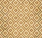 Ornement oriental de style de rétro de l'Islam de la géométrie fond sans couture brun de modèle illustration libre de droits