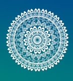 Ornement rond de mandala illustration stock