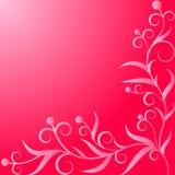 Ornement rose d'usine Photos stock