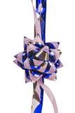 Ornement, rose et bleu de fleur Image libre de droits