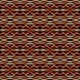 Ornement rouge abstrait Photo libre de droits