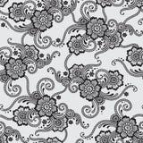 Ornement sans couture de vecteur de fleur illustration stock