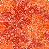 Ornement sans joint floral Images stock