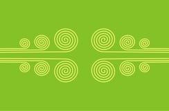 Ornement spiralé illustration stock