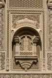 Ornement sur le mur du palais dans le fort de Jaisalmer, Inde Images libres de droits