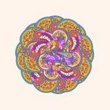 Ornement traditionnel de l'Orient motif oriental Photographie stock libre de droits