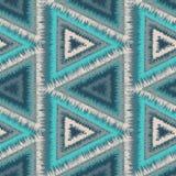 Ornement tribal sans couture illustration stock