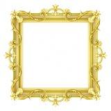Ornementation d'or illustration libre de droits