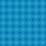 Ornementez le bleu de fond de modèle d'amour illustration de vecteur