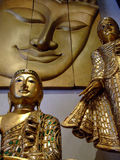 Ornements de Bouddha, Thaïlande. Image stock
