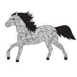 Ornements de cheval Images libres de droits