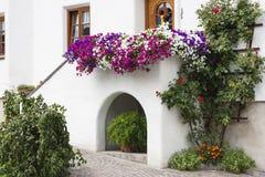 Ornements de façade, Autriche Photo libre de droits