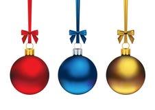 Ornements de Noël illustration de vecteur