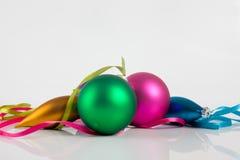 Ornements de Noël Images libres de droits