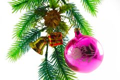 Ornements de Noël. Photo stock