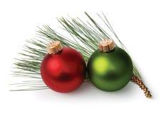 Ornements de Noël Photo stock