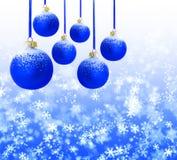 Ornements de Noël. images libres de droits