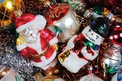 Ornements de Noël. Photo libre de droits
