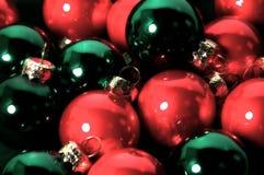 Ornements de Noël photographie stock libre de droits