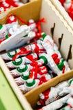 Ornements de Noël Photo libre de droits
