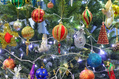 Ornements de Noël Photos stock