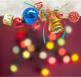 Ornements de Noël Images stock